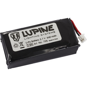 Lupine Replacement battery for Lupine Red Light black